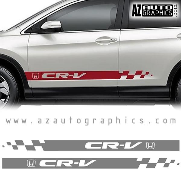 Vehicle Specific Honda CRV - Auto graphics for car
