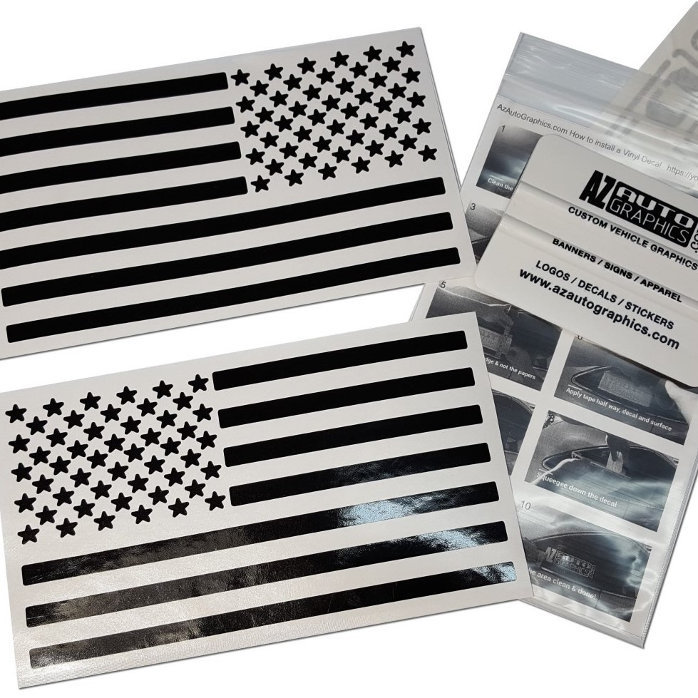 USA Flag Decal Kit