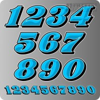 RACE CAR NUMBERS ALL
